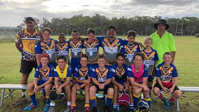 WINNERS: Murgon Mustangs under-12 side took out their competition.