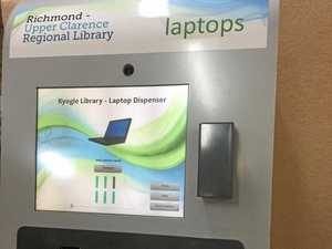 How to borrow a laptop at Kyogle Library