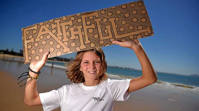 Jaxson Bermingham,13, has started his own clothing brand with the help of his mother, Rachael.
