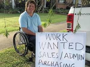 Mackay man with a disability puts himself out there for work