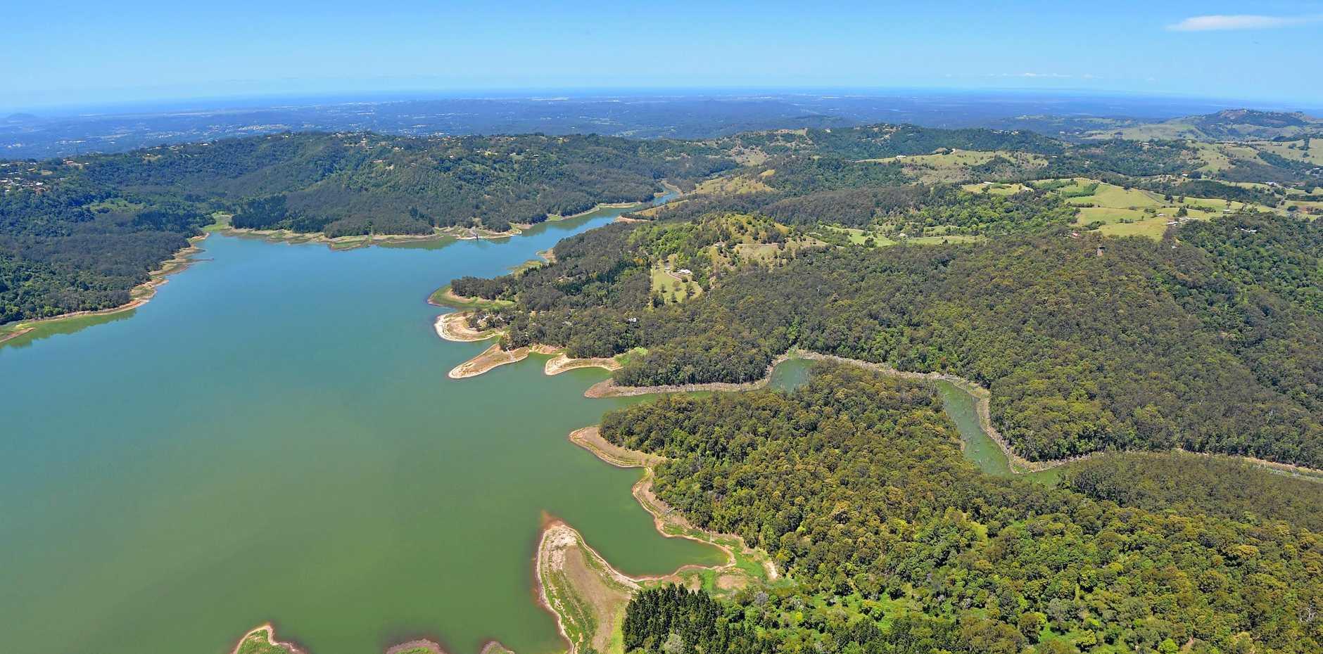Lake Baroon/Baroon Dam.