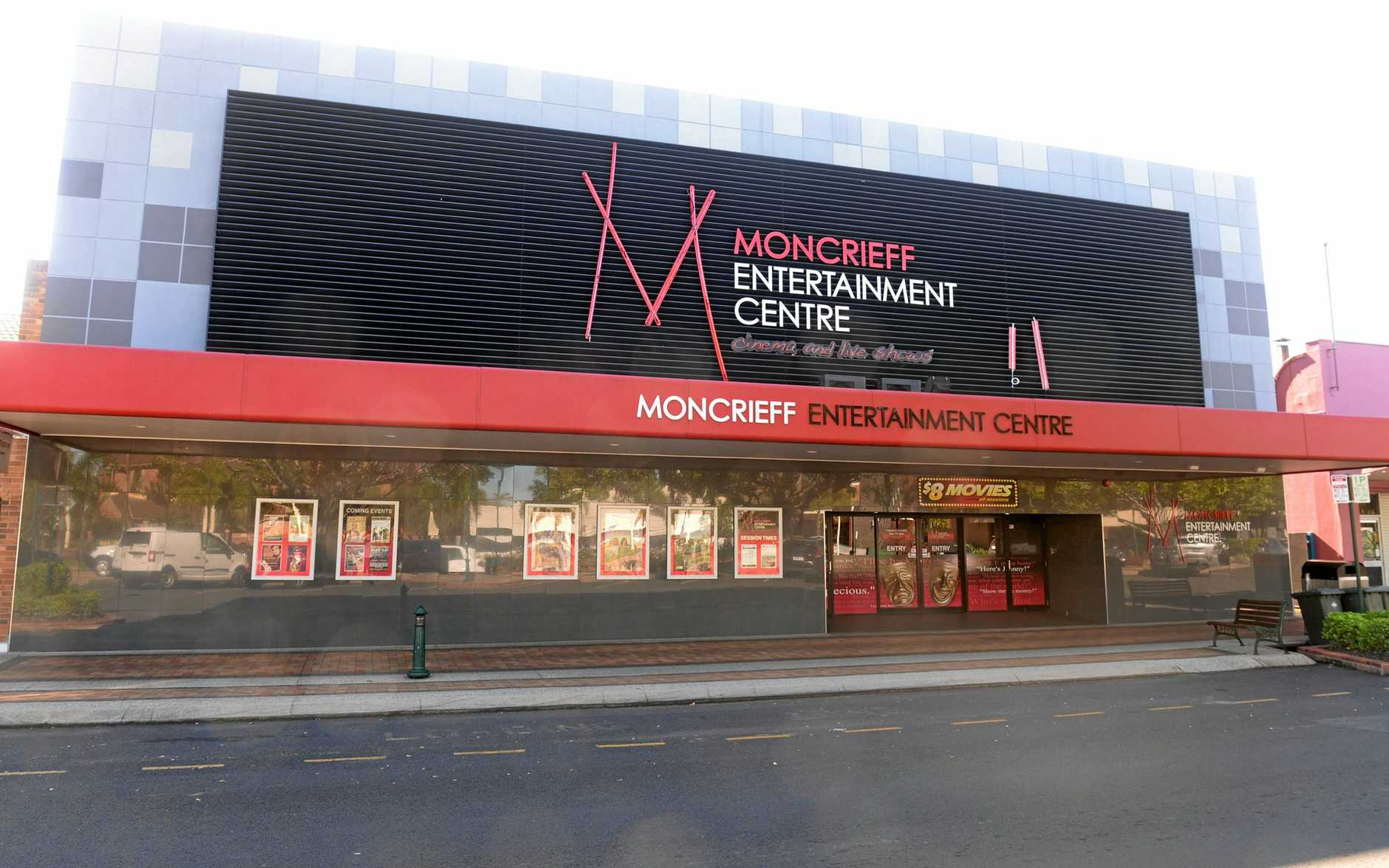 UPDATED: The Moncrieff Entertainment Centre.
