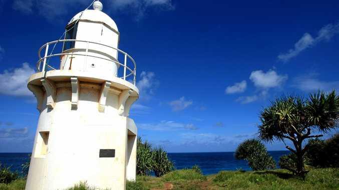 Fingal Heads light house.