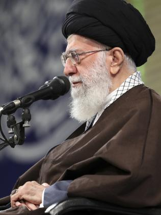 Iran's Supreme Leader Ayatollah Ali Khamenei also represents a very real threat. Picture: Office of the Iranian Supreme Leader via AP