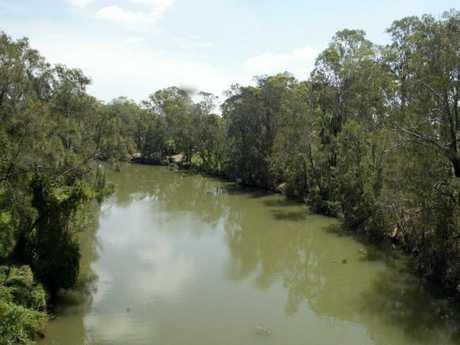 Prospect Creek where Chloe's body was found.