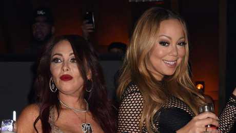 Stella Bulochnikov and Mariah Carey partying the night away.