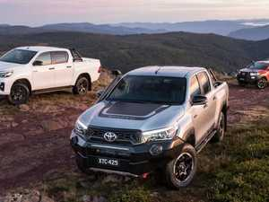2018 Toyota HiLux with a Mercedes price tag