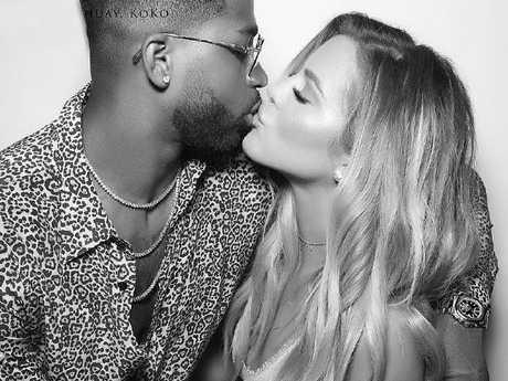 Khloe Kardashian and Tristan Thompson. Picture: Khloe Kardashian/Instagram