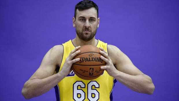 Australian basketball star Andrew Bogut has been warned against playing in the NBL. Picture: Getty Images