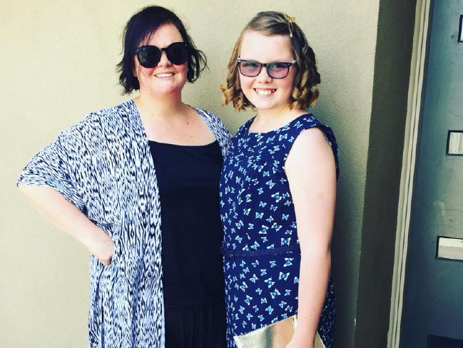 Shannon Cassidy and her daughter Charli loved the Kmart party.