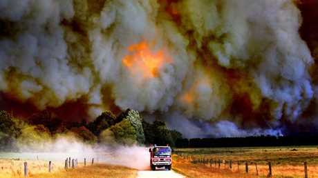 The devastating Black Saturday fires in Victoria in 2009 left 173 people dead. (Pic: Alex Coppel)