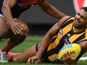 Double blow: Cyril, Puopolo hit for six
