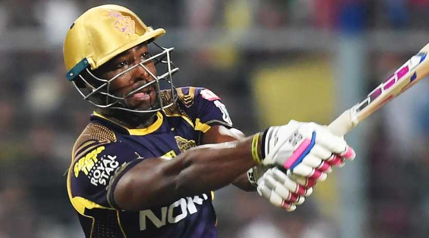 Andre Russell scored 41 runs off just 12 balls.