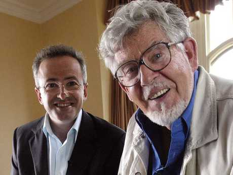 Andrew Denton with Rolf Harris on Enough Rope.