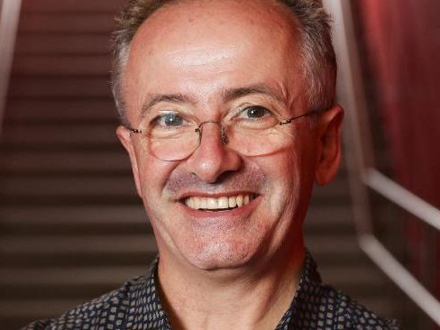 Andrew Denton returns to TV as host of talk show, Interview. Picture: Justin Lloyd