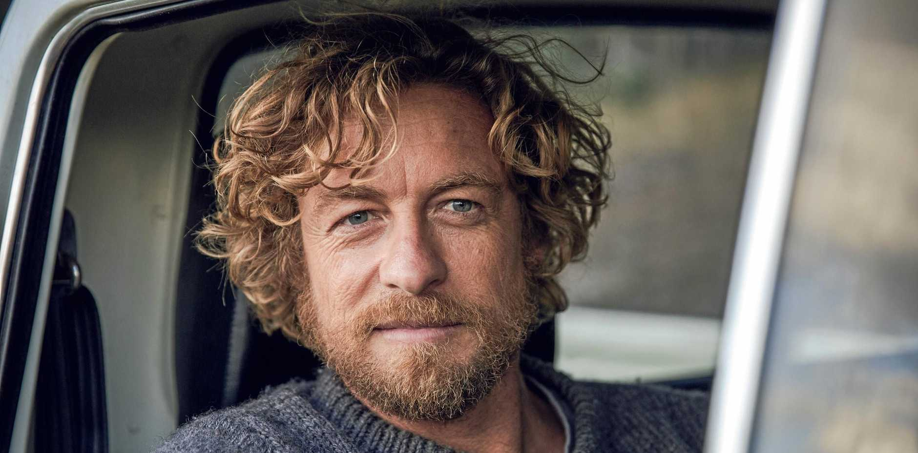 Actor and director Simon Baker.