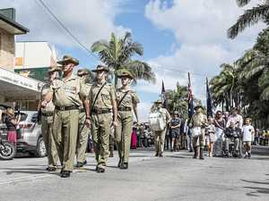 Bangalow march and two-up