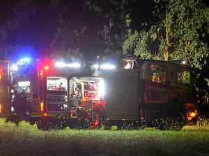 Caravan destroyed in blaze on Coast property