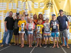 Champions crowned at Oz Grom Cup