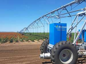 FUWarrego Water Services hosted a technology irrigation field tour throughout the Jondaryan region.