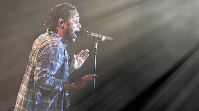 PACKED: Kendrick Lamar's show was an intense affair.Photo: Lyn McCarthyPhoto Contributed