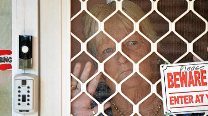 PLEA: North Mackay grandmother Marshelle Parker feels she is being targeted by people banging on her doors and windows at all hours.