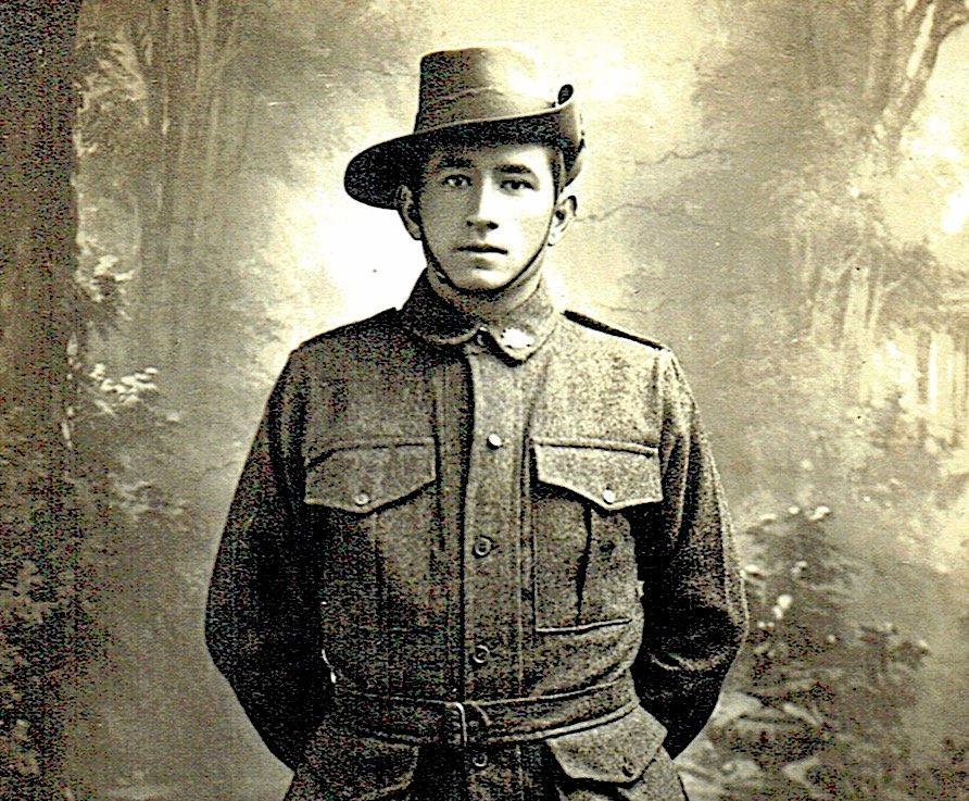 A photo of a young Cedric Popkin.