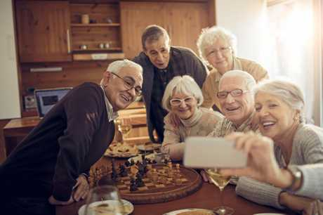 IN ON THE FUN: Older generations can benefit from social media just as much as digital natives.