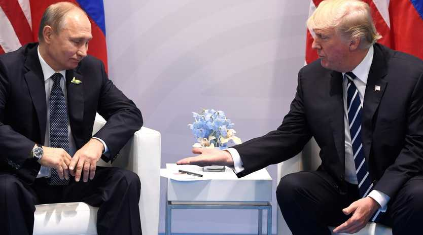 While Mr Trump appears to have cracked down on Russia, the sanctions and expulsions reportedly went further than he wanted. Picture: AFP Photo / Saul Loeb