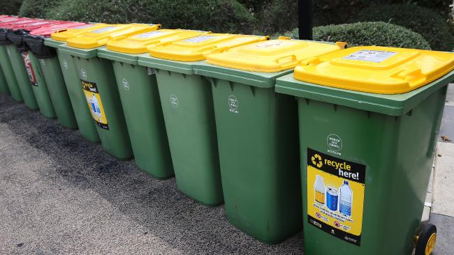 Ipswich City Council is set to take all recycling to landfill. Picture: Patria Jannides