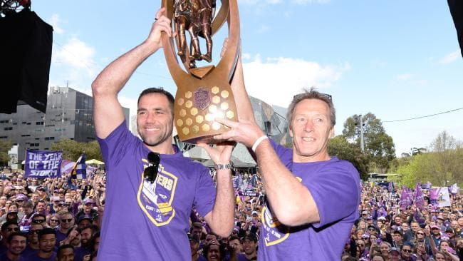 Bellamy recently coached his 400th game with the Storm.