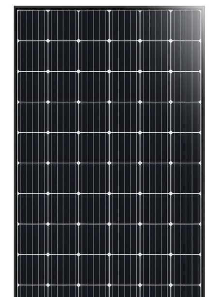 Longi monocrystalline solar panel.