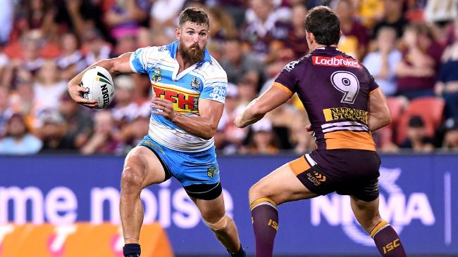 Will Matthews in action against Brisbane. Picture: Getty Images