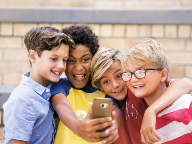 Children's privacy could be at risk from apps in the Google Play store, a study says. Picture: iStock
