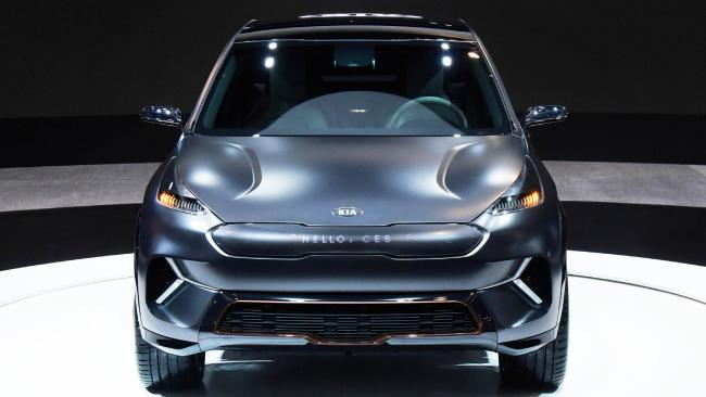 Kia's Niro EV Concept is a pointer to the future. Pic: Supplied