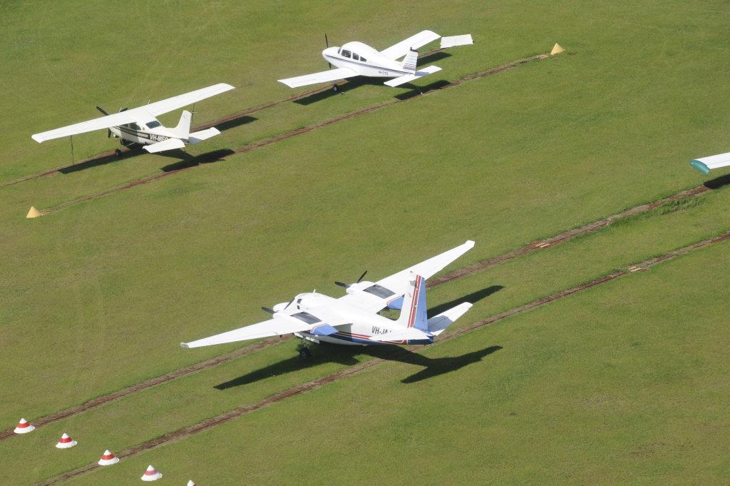 The Toowoomba Aerodrome.