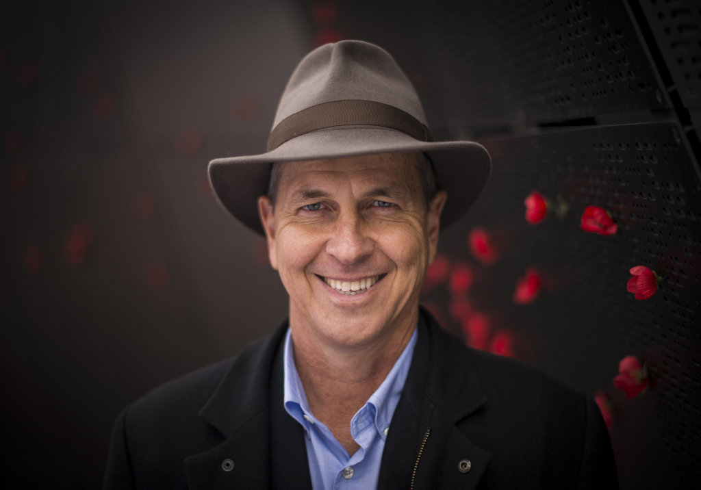 Journalist Peter Greste hosts the TV documentary General Monash and Me.