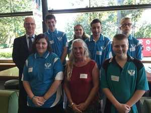 Fraser Coast students meet prince during visit