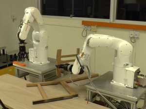 Robot arms make light work of Ikea furniture