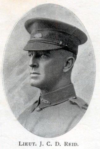 Lt. John Cecil Drury Reid MC.