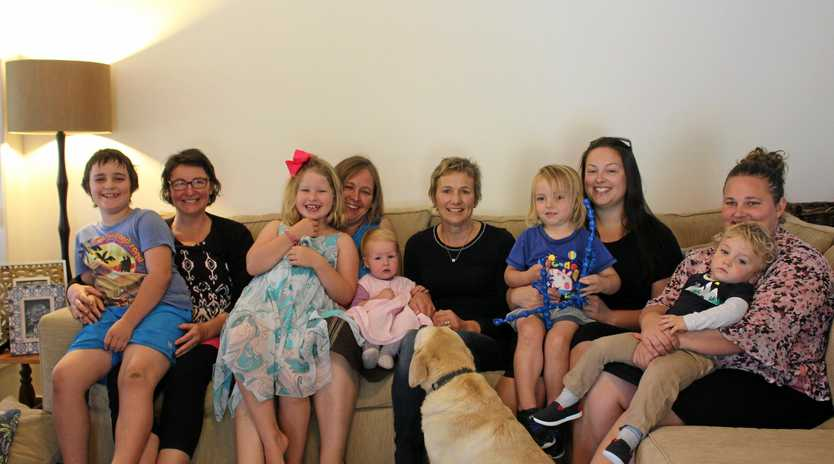 HOME DELIVERY: Five Stanthorpe-based mothers are among hundreds of women around the Southern and Darling Downs who have chosen to give birth in the place they feel safest, despite the warnings of obstetricians.