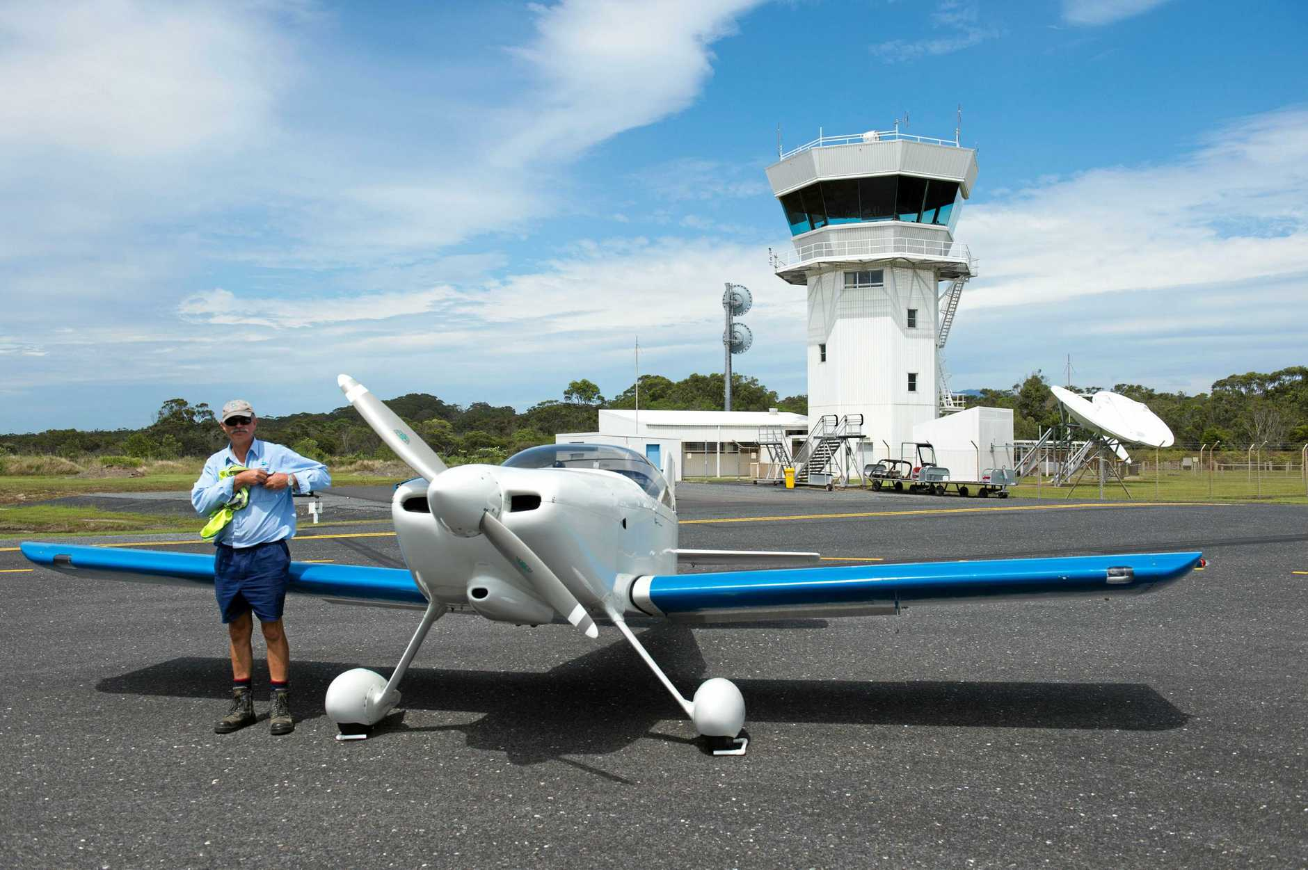 SPACE AGE: Coffs Harbour's historic control tower is about to see technology take a great leap forward.