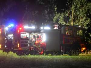 Teen treated for smoke inhalation after house fire