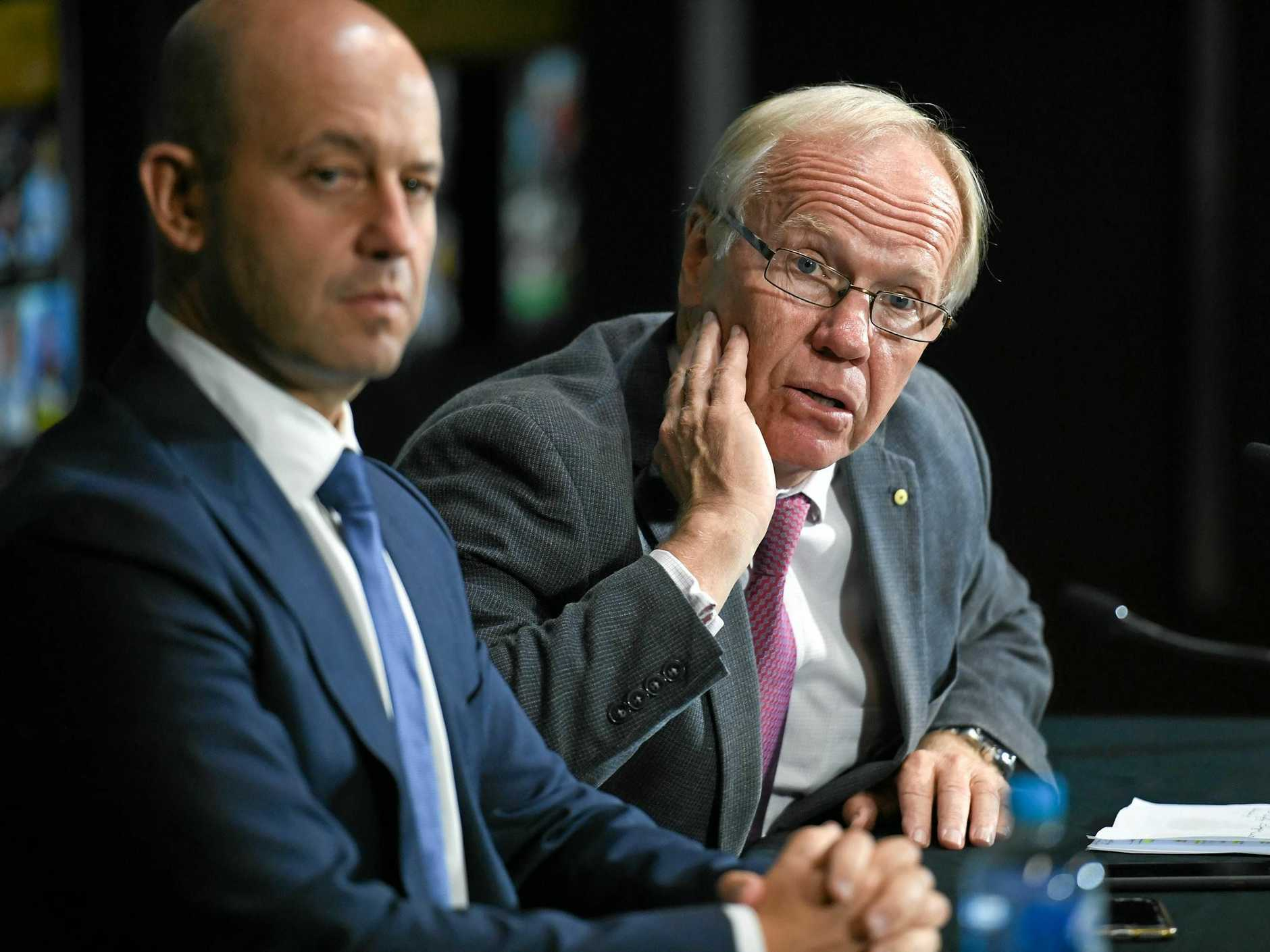 NRL chief executive Todd Greenberg and ARL Commission chairman Peter Beattie have great power in their hands.