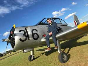 Teen enters record books with warbird solo flight