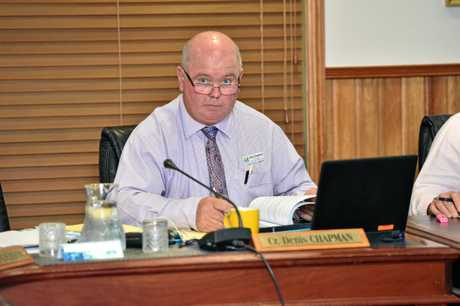 Fraser Coast Regional Council - Cr. Denis Chapman.