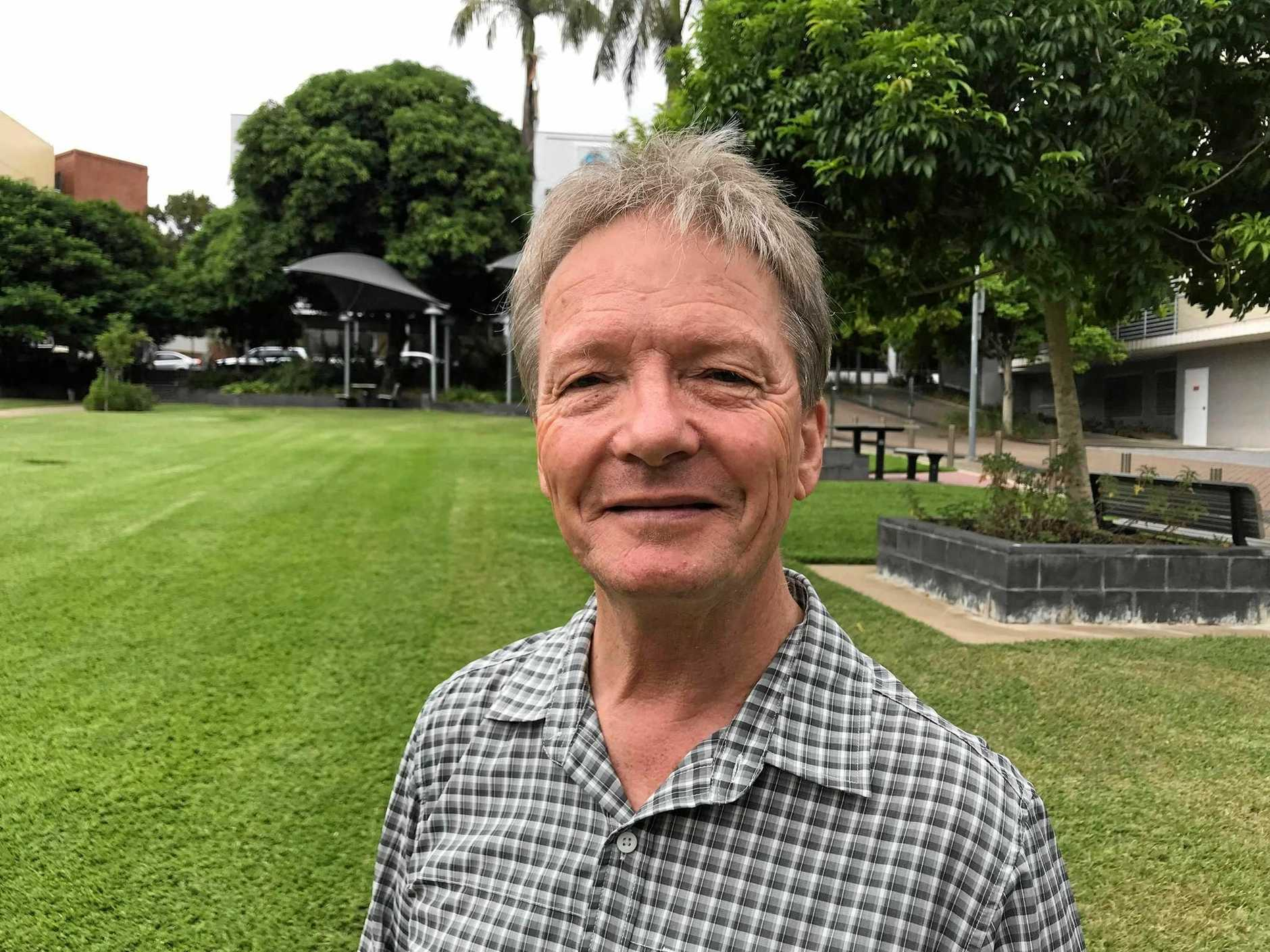 Brassall resident Bill Redman said he would have happily absorbed the cost of recycling in his rates, if it meant not sending recycling to landfill.