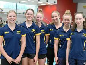 Young swimmers prepare for championships