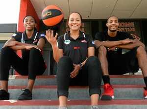 SHOOTING STARS: Mackay basketball's secret US weapons arrive