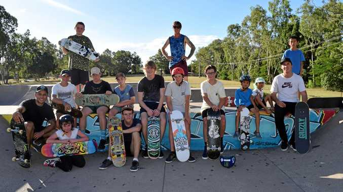 FUN TIMES: Emerald Skate Mates supplies free skateboard coaching and training at Emerald Skatepark.